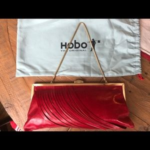 NWT. Hobo brand Colette purse. Color Garnet.
